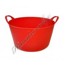 Emmer in de kleur rood