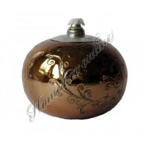 Bolkandelaar bronze