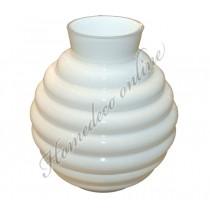 Vaas Ambrosia wit 35x14x10,5 cm