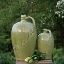 Kruik groen 16x29 cm