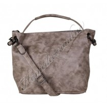 "Tas ""bag in bag"" taupe 39x28 cm"