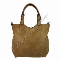 """Tas """"bag in bag"""" camel 34x27 cm"""