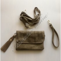 Clutch taupe