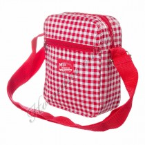 Mixmamas Messenger rood/witte ruit