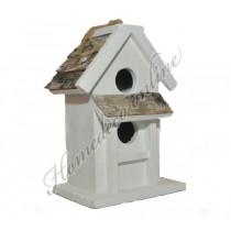 Vogelhuis schors 22x14 cm