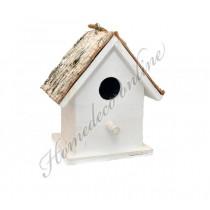 Vogelhuisje schors klein 13x10 cm