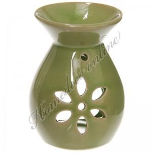 Oliebrander bloem groen 11,5x8,5 cm